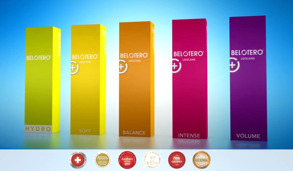 БЛАНШИНГ заполнение морщин препаратом Belotero