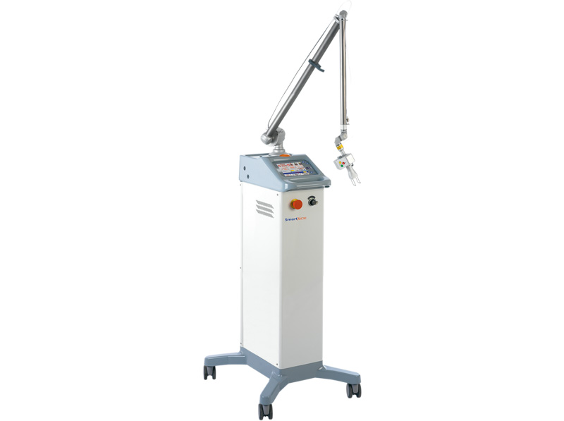 Аппарат для лазерной шлифовки. DEKA Smartxide Dot. Купить фракционный лазер CO2  (DEKA, Италия)